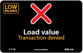 load value - denied